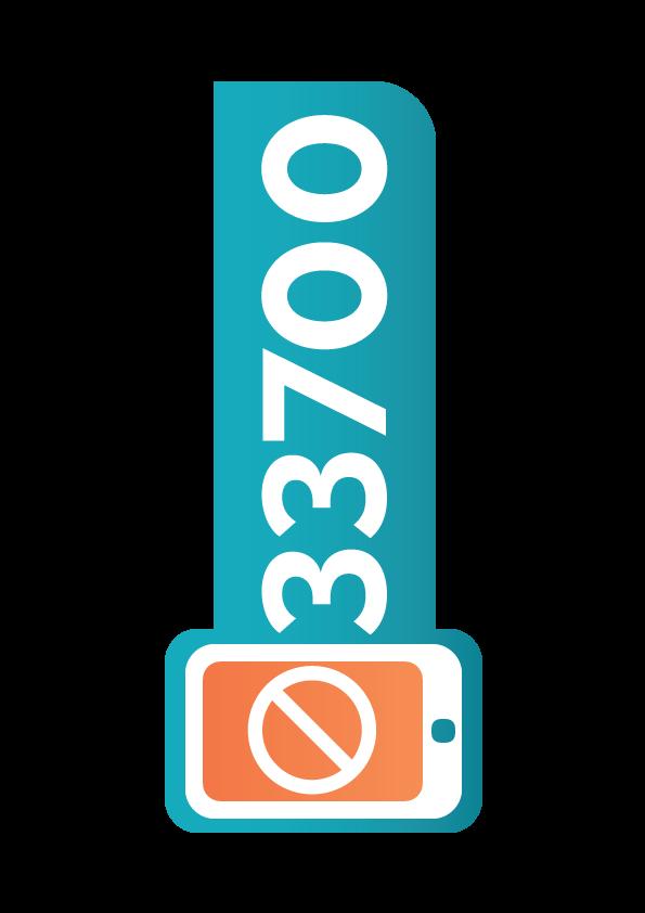 Le 33700 : Les spams SMS et vocaux
